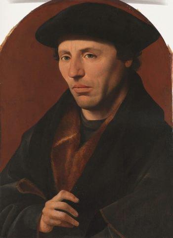 Portret van een Haarlems burger, Jan van Scorel, 1529