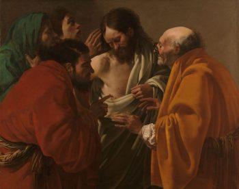 De ongelovige Thomas, Hendrick ter Brugghen, ca. 1622