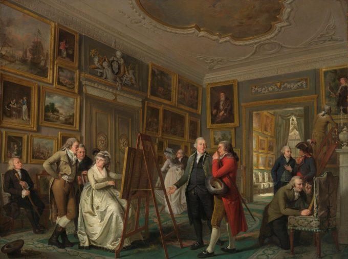 De kunstgalerij van Jan Gildemeester Jansz, Adriaan de Lelie, 1794 - 1795
