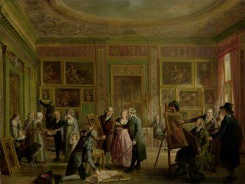 De kunstgalerij van Josephus Augustinus Brentano, Adriaan de Lelie, ca. 1790 – ca. 1799