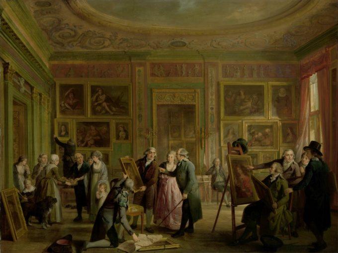 De kunstgalerij van Josephus Augustinus Brentano, Adriaan de Lelie, ca. 1790 - ca. 1799