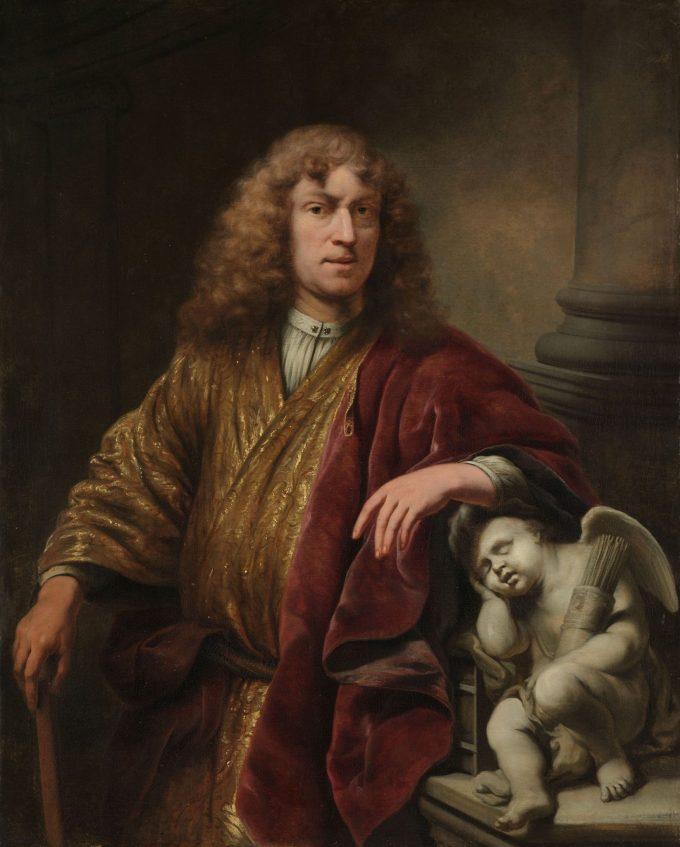 Zelfportret, Ferdinand Bol, ca. 1669