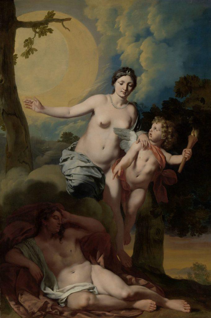 Selene en Endymion, Gerard de Lairesse, ca. 1680