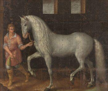Spaanse strijdhengst, Jacob de Gheyn (II), 1603