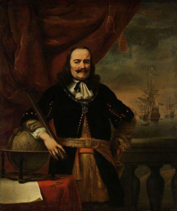Michiel de Ruyter als luitenant-admiraal, Ferdinand Bol, 1667