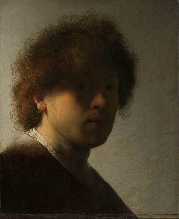 Zelfportret, Rembrandt van Rijn, ca. 1628