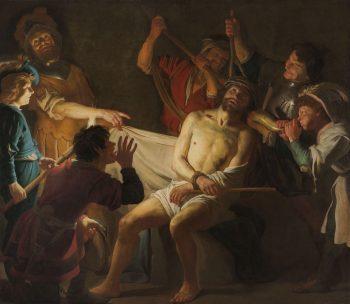 De doornenkroning van Jezus, Gerard van Honthorst, ca. 1622