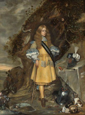 Memorieportret van Moses ter Borch, Gerard ter Borch (II), Gesina ter Borch, 1667 – 1669