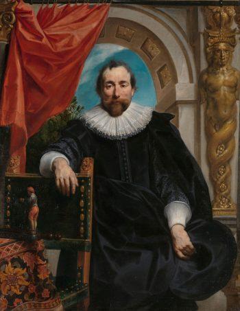 Portret van Rogier Le Witer, Jacob Jordaens (I), 1635