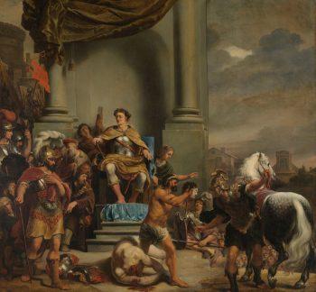 Consul Titus Manlius Torquatus laat zijn zoon onthoofden, Ferdinand Bol, 1661 – 1664
