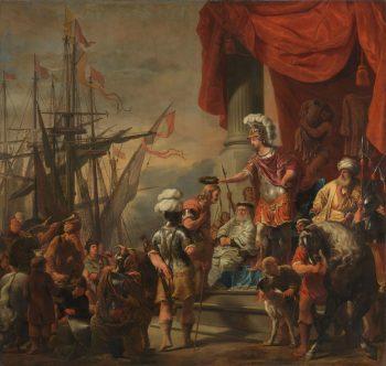 Aeneas bij Latinus, Ferdinand Bol, ca. 1661 – ca. 1664