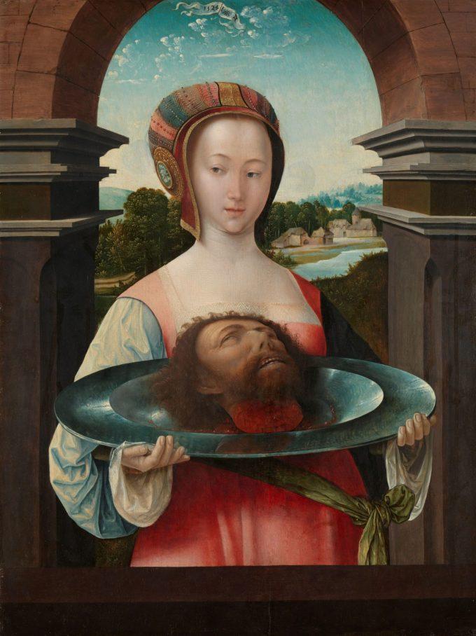 Salome met het hoofd van Johannes de Doper, Jacob Cornelisz. van Oostsanen, 1524
