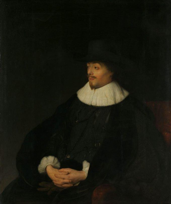 Portret van Constantijn Huygens, Jan Lievens, ca. 1628 - ca. 1629