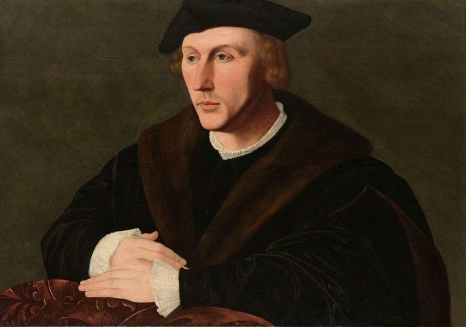 Portret van Joris van Egmond, Jan van Scorel, ca. 1535 - ca. 1540