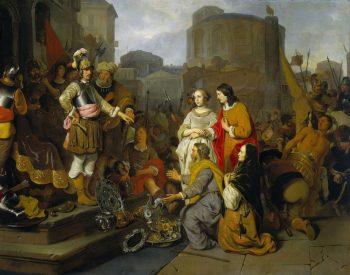 De grootmoedigheid van Scipio, Gerbrand van den Eeckhout, ca. 1650 – ca. 1655