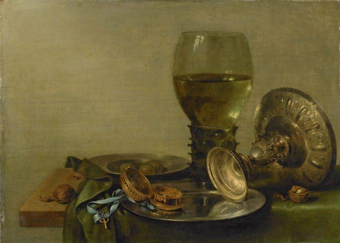 Stilleven met een zilveren tazza, Willem Claesz. Heda, 1630