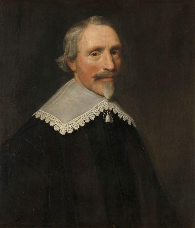 Portret van Jacob Cats, Michiel Jansz. van Mierevelt, 1639