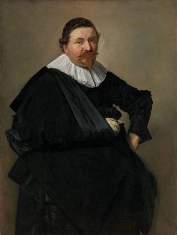 Portret van Lucas de Clercq, Frans Hals, ca. 1635