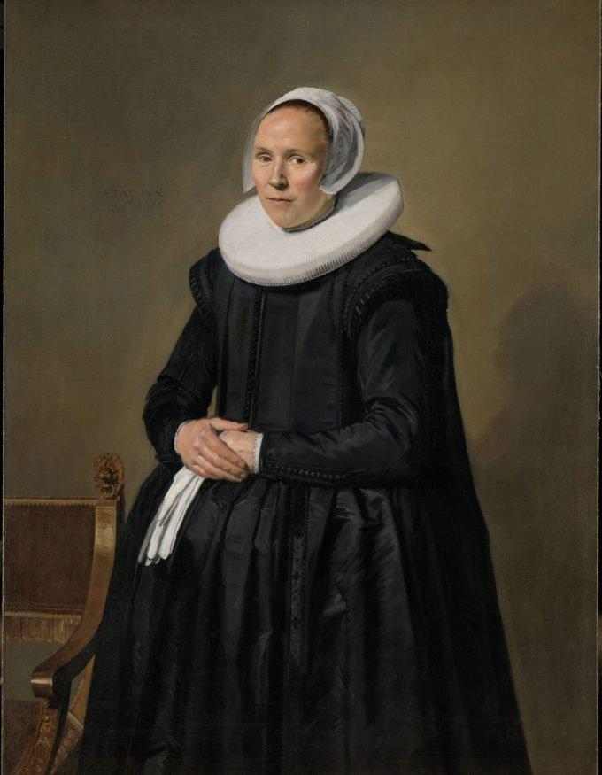 Portret van Feyntje van Steenkiste, Frans Hals, 1635