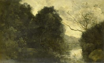 Bosvijver, Camille Corot, 1840 – 1875