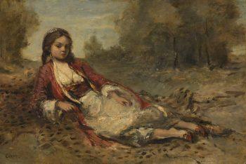 Algérienne, Camille Corot, 1871 – 1873