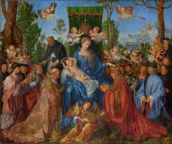 Albrecht Dürer, Rozenkransfeest, 1506