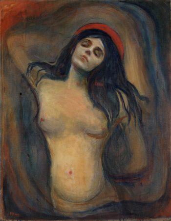 Edvard Munch, Madonna, 1895