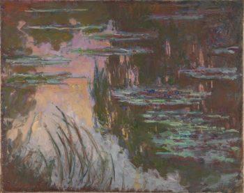 Claude Monet, Waterlelies, 1910-1926