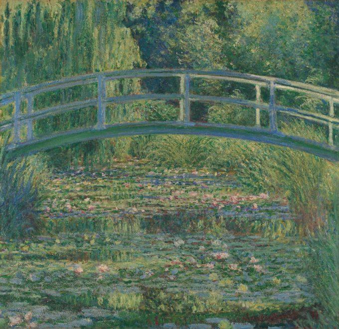 Claude Monet, de Japanse brug, 1899