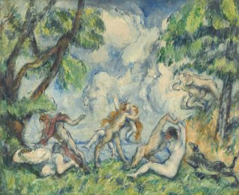 Paul Cézanne, The Battle of Love, 1880