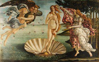 Sandro Botticelli, De Geboorte van Venus, 1483