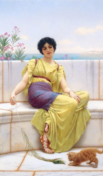 John William Godward, IJdelheid, 1900