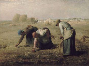 Jean-François Millet, Arenleessters (Des glaneuses), 1857