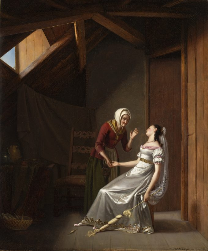Marie Antoinette Victoire Petit-Jean, Sleeping Beauty, 1821