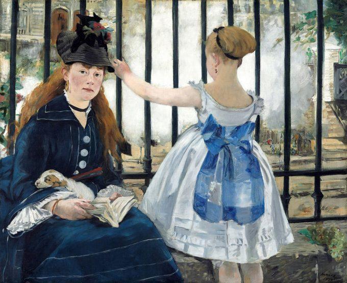 Édouard Manet, De spoorweg (Le Chemin de fer), 1873