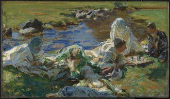 John Singer Sargent, Dolce Far Niente, 1907