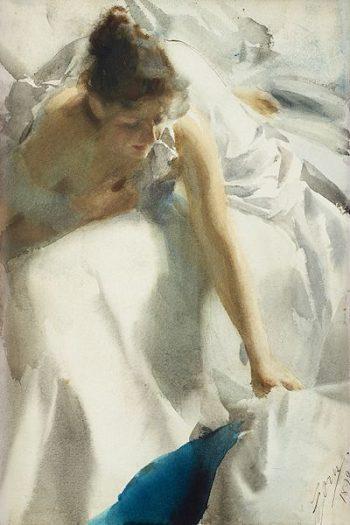 Anders Zorn, Ontwaken (reveil), 1892