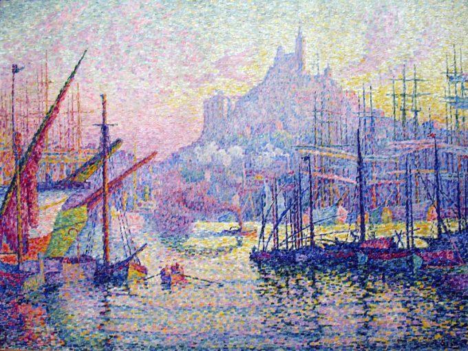 Paul Signac, Notre Dame de la Garde, 1905/1906