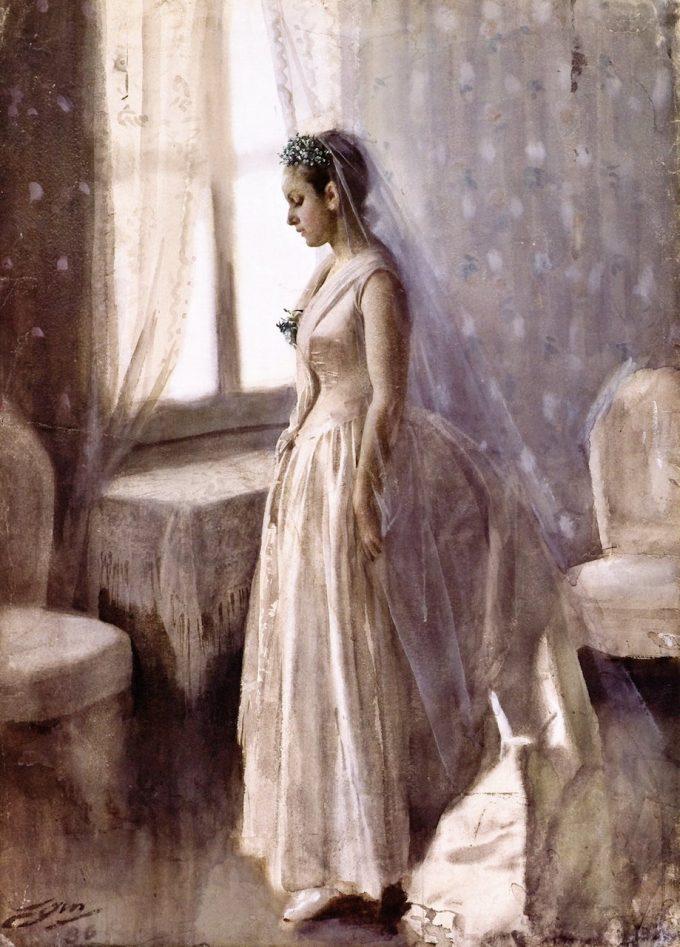 Anders Zorn, de Bruid, 1886
