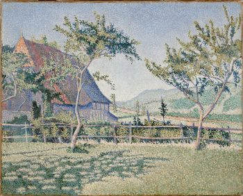 Paul Signac, Comblat-le-Chateau, 1887
