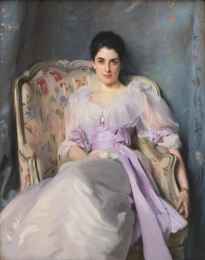 John Singer Sargent, Portret van Lady Agnew, 1892