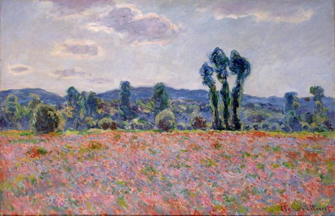 Claude Monet, Papaverveld, 1890