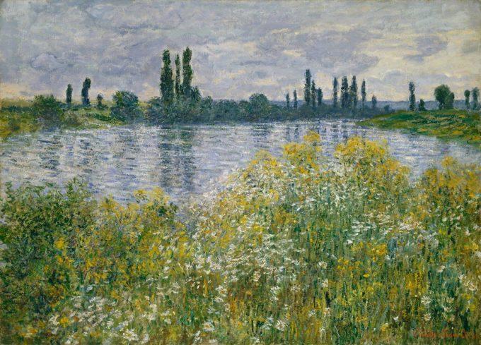 Claude Monet, De oevers van de Seine bij Vétheuil, 1880