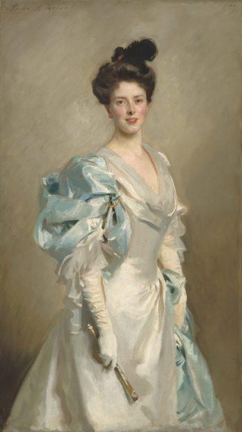 John Singer Sargent, Portret van Mary Crowninshield Endicott Chamberlain (Mrs. Joseph Chamberlain), 1902