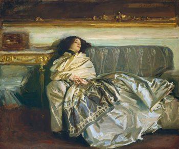 John Singer Sargent, Nonchaloir (Repose), 1911