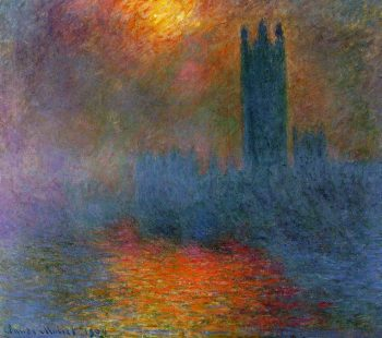 Claude Monet, Londense parlementsgebouwen, 1904