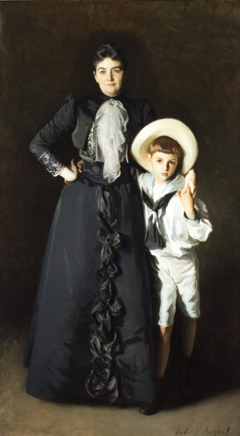 John Singer Sargent, Portret van mrs. Edwards L. Davis en haar zoon, 1890