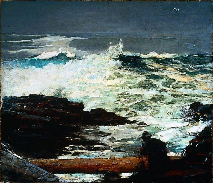 Winslow Homer, Drijfhout, 1909