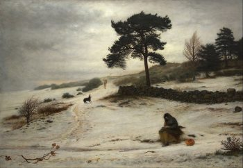 John Everett Millais, Blow Blow Thou Winter Wind, 1892