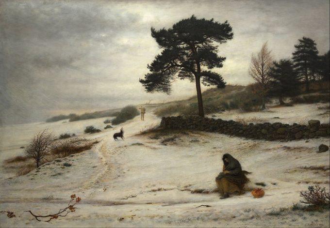 John Everett Millais, Blow Blow Thou Winter Wind, 1892